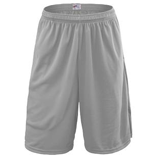 Soffe Adult Extra Long Poly Closed Hole Mesh Short