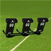 "Fisher 3 Man Football Boomer Sleds w/ ""T"" Pads"
