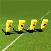 """Fisher 4 Man Football Boomer Sleds w/ """"V"""" Pads"""
