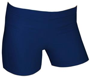 Spandex 2.5&quot; Sports Shorts - Basic Dark Solids