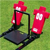 Fisher Football Blocking Sleds Coach's Platform