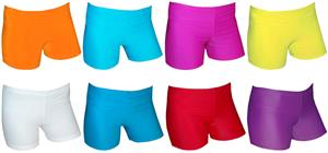 Spandex 2.5&quot; Sports Shorts - Bright Solids