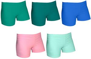 Spandex 2.5&quot; Sports Shorts - Color Solids