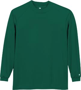 Badger Youth Core Long Sleeve Mock Neck Shirts