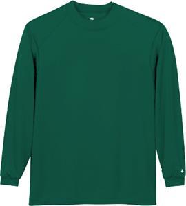 Badger Youth Core Long Sleeve Mock Neck Shirts
