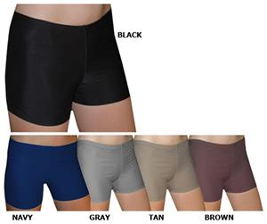 "Spandex 4"" Sports Shorts - Basic Dark Solids"