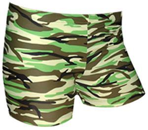 "Plangea Spandex 3"" Sports Shorts - Camo Print"