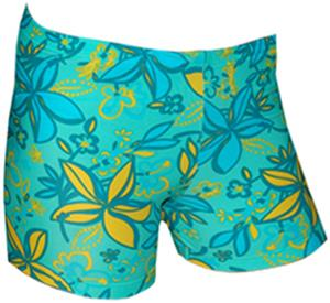 Spandex 2.5&quot; Sports Shorts - Groovy Print