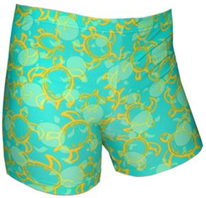 Spandex 3&quot; Sports Shorts - Tuga Print