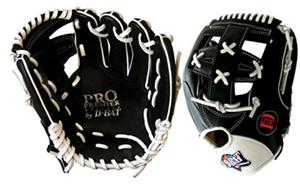 D-Bat Middle Infield Model G106 Baseball Gloves