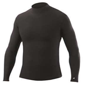 Badger B-Hot Long Sleeve Mock Performance Shirts