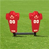 Fisher 2 Man Football Brute Sleds w/ Man Pads