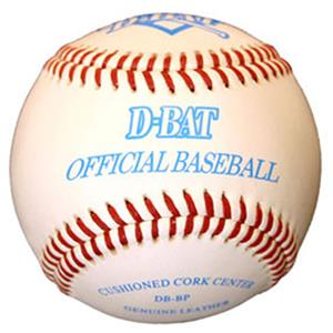 D-Bat Official DB-BP Practice Baseballs (Dozen)