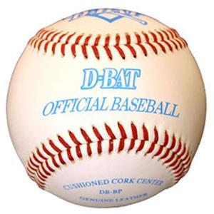 D-Bat Official DB-BP Practice Raised Seam Baseball