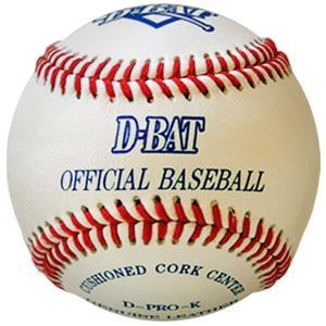 D-Bat Super Cage/Pitching Machine Baseballs(Dozen)