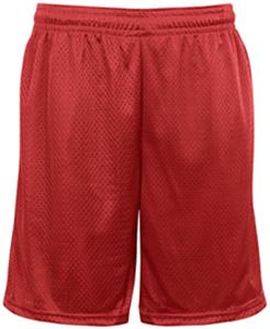 Badger Mens 9&quot; Pocketed Mesh Athletic Cut Shorts