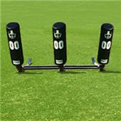 Fisher 3 Man Football Brute Sleds w/ Round Pads
