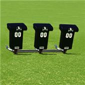 "Fisher 3 Man Football Brute Sleds w/ ""T"" Pads"