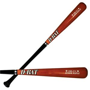 D-Bat DB-271 Junior Maple Half Dip Baseball Bats