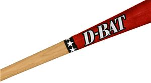 D-Bat DB-271 Junior Maple Two-Tone Baseball Bats