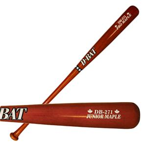 D-Bat DB-271 Junior Maple Full Dip Baseball Bats