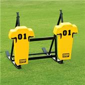 Fisher 2 Man Football CL Sleds w/ Man Pads