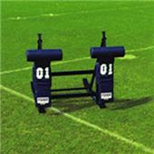 "Fisher 2 Man Football CL Sleds w/ ""T"" Pads"