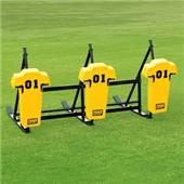 Fisher 3 Man Football CL Sleds w/ Man Pads