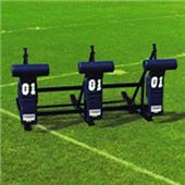 "Fisher 3 Man Football CL Sleds w/ ""T"" Pads"