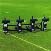 "Fisher 4 Man Football CL Sleds w/ ""T"" Pads"