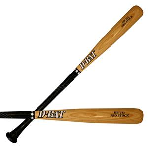 D-Bat Pro Stock-J33 Two-Tone Ash Baseball Bats