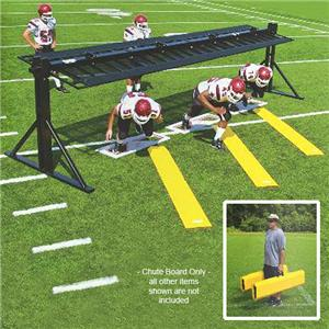 Fisher Football Folding Chute Boards