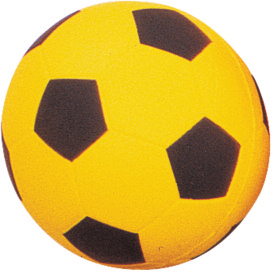 Martin Coated Foam Soccer Balls