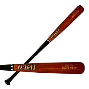 D-Bat Pro Cut-72 Two-Tone Baseball Bats