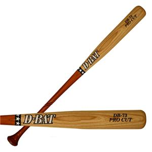 D-Bat Pro Cut-73 Two-Tone Ash Baseball Bats