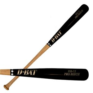 D-Bat Pro Birch-72 Two-Tone Baseball Bats