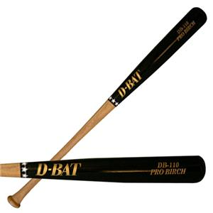 D-Bat Pro Birch-110 Two-Tone Baseball Bats
