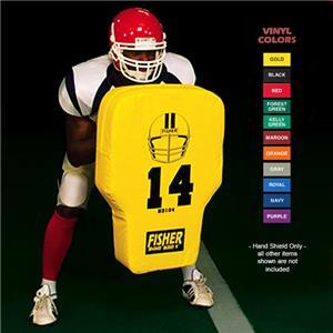 Fisher HD104 Contour Body Football Hand Shields