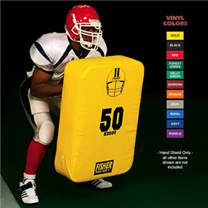Fisher HD500 Big Beulah Body Football Hand Shields