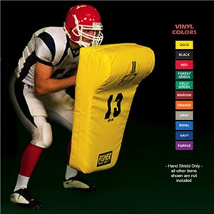 "Fisher HD130 ""T-Shield"" Football Hand Shields"