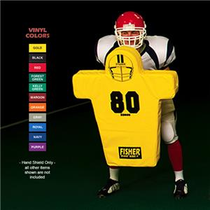 "Fisher HD800 ""Man"" Football Hand Shields"
