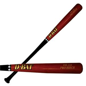 D-Bat Pro Birch-159 Two-Tone Baseball Bats