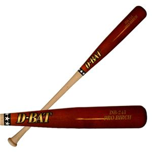 D-Bat Pro Birch-243 Two-Tone Baseball Bats