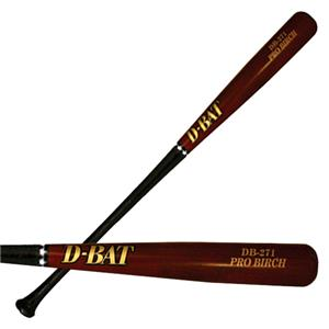 D-Bat Pro Birch-271 Two-Tone Baseball Bats