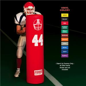 "Fisher SUD5414 Round 14"" Football Stand-Up Dummies"