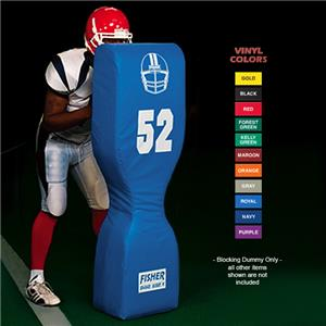 Fisher Slot Block Chute Football Blocking Dummies
