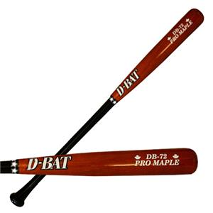 D-Bat Pro Maple-72 Two-Tone Baseball Bats