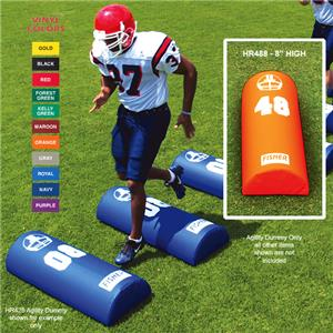 Fisher HR488 Half Round Football Agility Dummies