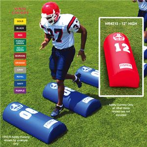 Fisher HR4212 Half Round Football Agility Dummies