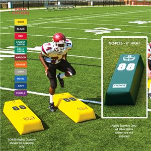 Fisher SO4825 Stepover Football Agility Dummies